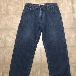 Men's Levi's 569 Straight Fit Jeans Size 36x32.